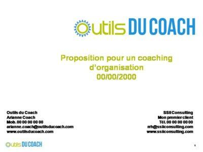 coaching d'organistion